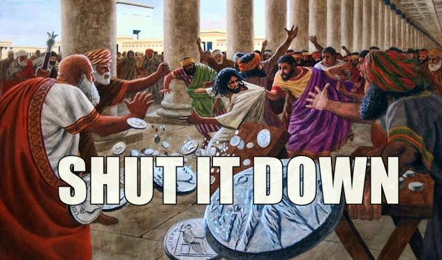 Monday-Jesus-drives-out-money-changers