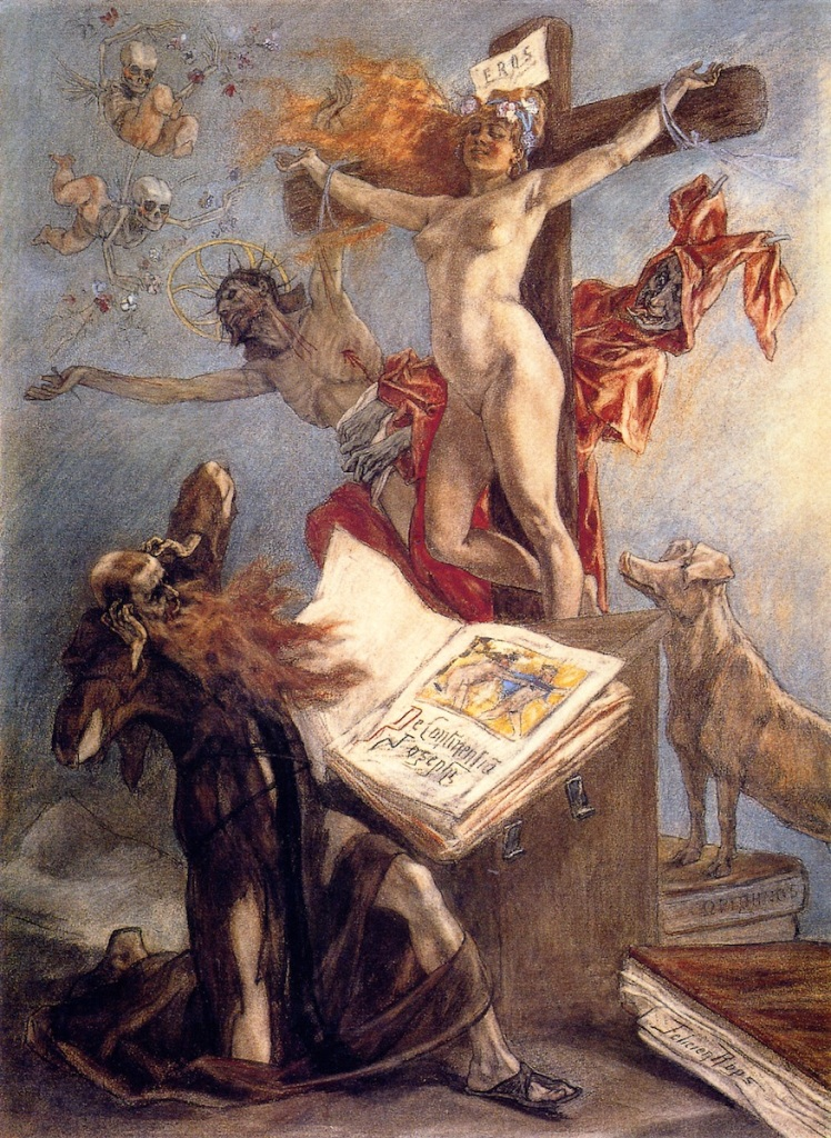 002-felicien-rops-the temptation of st anthony